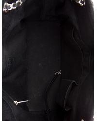 Chanel - Metallic Timeless Soft Shopper Tote Black - Lyst