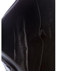 Chanel   Metallic Classic Maxi Double Flap Bag Black   Lyst