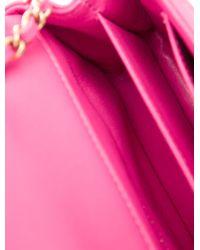 Chanel - Metallic 2015 Classic Chevron Mini Flap Bag W/ Tags Pink - Lyst