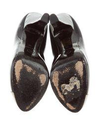 Chanel - Metallic Cap-toe Pumps - Lyst