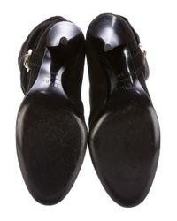 Dior - Metallic Embellished Suede Boots Black - Lyst