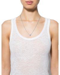 Cartier - Metallic Diamond Hindu Pendant Necklace White - Lyst