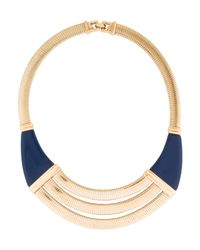 Givenchy - Metallic Omega Chain Collar Necklace Gold - Lyst