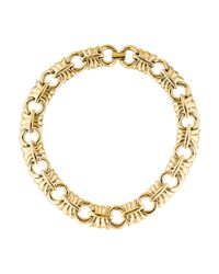 Givenchy - Metallic Collar Necklace Gold - Lyst