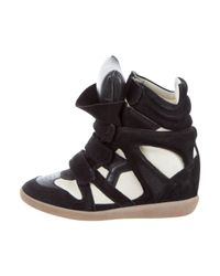 Isabel Marant | Black 'The Beckett' Sneakers | Lyst