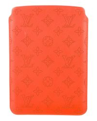 Louis Vuitton | Mahina Ipad Mini Case Orange | Lyst