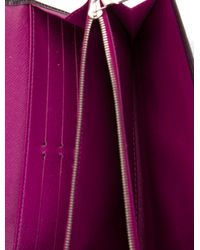 Louis Vuitton - Metallic Epi Sarah Wallet Silver - Lyst