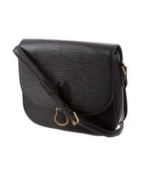 Louis Vuitton - Black Epi St. Cloud Gm - Lyst