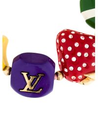 Louis Vuitton - Metallic Fraise Strawberry Ladybug Charm Bracelet Gold - Lyst
