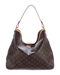 Louis Vuitton - Natural Monogram Delightful Mm Brown - Lyst