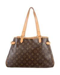 Louis Vuitton - Natural Monogram Batignolles Horizontal Bag Brown - Lyst