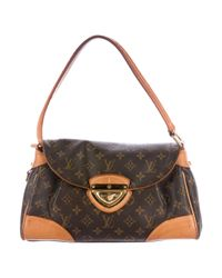 Louis Vuitton - Natural Monogram Beverly Mm Brown - Lyst