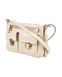 Marc Jacobs - Metallic Small Cammie Crossbody Bag Gold - Lyst