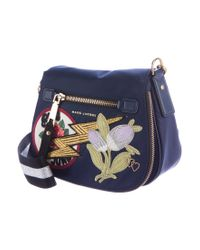 Marc Jacobs - Metallic Small Patchwork Nomad Bag Navy - Lyst