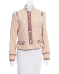 Marc By Marc Jacobs | Natural Marc By Jacobs Wool Bouclé Blazer Pink | Lyst