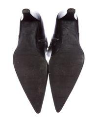 Stuart Weitzman - Black Leather Knee-high Boots - Lyst
