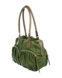 MZ Wallace - Metallic Bedford Jane Shoulder Bag Green - Lyst