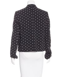Givenchy - Black Fitted Cross Print Blazer W/ Tags - Lyst