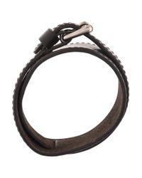 Louis Vuitton - Metallic Double Wrap Bracelet Silver for Men - Lyst
