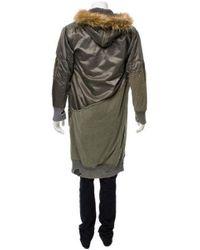 Greg Lauren - Green Nylon Army Tent Long Snorkel Flight Jacket W/ Tags Olive for Men - Lyst