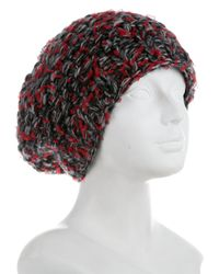 Chanel - Red Cashmere Tweed Beanie W/ Tags - Lyst