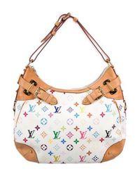 Louis Vuitton - Natural Multicolore Greta Bag White - Lyst