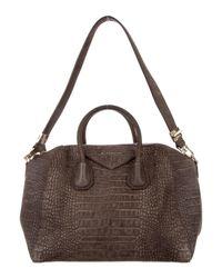 fd703024fb Lyst - Givenchy Medium Antigona Bag Gold in Metallic