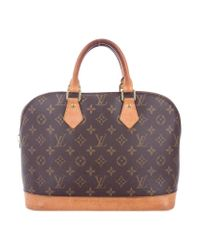 Louis Vuitton - Natural Monogram Alma Pm Brown - Lyst