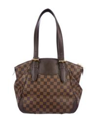 Louis Vuitton - Natural Damier Ebene Verona Mm Brown - Lyst
