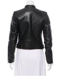 MICHAEL Michael Kors - Black Michael Kors Casual Biker Jacket - Lyst