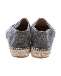 Chanel - Natural 2016 Cc Wool Espadrilles White - Lyst