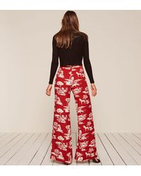 Reformation - Red Sorrenti Pant - Lyst