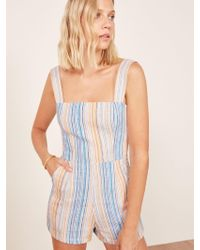 Reformation - Multicolor Island Jumpsuit - Lyst