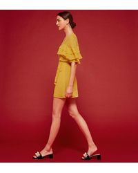 Reformation - Red Juliana Dress - Lyst