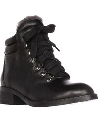 Gentle Souls | Black Brooklyn2 Lined Combat Boots | Lyst
