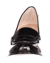 Michael Kors | Black Michael Bayville Loafer Pumps | Lyst