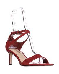 Via Spiga - Red Leesa Ankle Strap Dress Sandals - Lyst