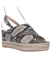 Via Spiga - Natural Triana Espadrille Slingback Wedge Sandals - Lyst