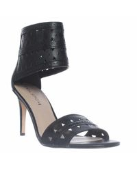 Via Spiga | Black Vanka Ankle Cuff Dress Sandals | Lyst