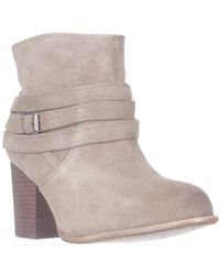 Splendid | Brown Laventa Strapped Ankle Boots | Lyst