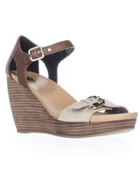 Dr. Scholls | Multicolor Molten Wedge Ankle Strap Sandals | Lyst