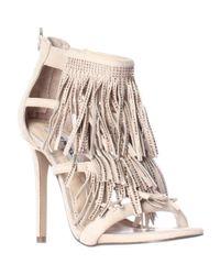 Steve Madden | Multicolor Fringly Dress Sandals | Lyst