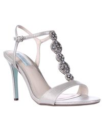 Betsey Johnson | Blue By Chloe Dress Heels Sandals | Lyst