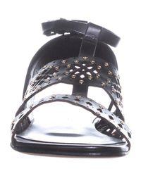 Furla - Blue Frula Aurora T-strap Flat Sandals - Lyst