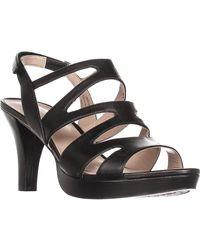 3d97dc7f4d54 Naturalizer. Women s Black Pressley Platform Strappy Dress Sandals. See  more Leather Sandal heels.