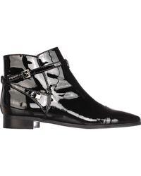 Ivanka Trump - Black Meria Ankle Boots - Lyst