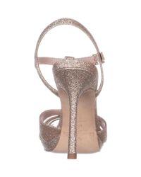 Kate Spade - Metallic Feodora T-strap Dress Sandals - Lyst