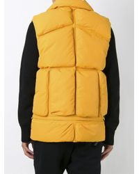 Moncler - Multicolor X Off-white 'giverny' Padded Gilet for Men - Lyst