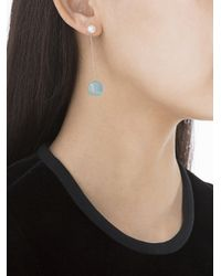 Delfina Delettrez - Multicolor Double Side Drop Earring - Lyst