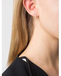 Anita Ko - Metallic Orbit Earring - Lyst